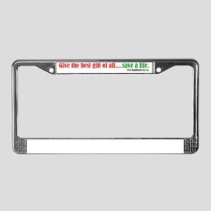 InsideCard3 License Plate Frame