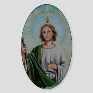 saint Sticker (Oval)