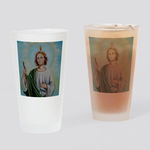 saint Drinking Glass