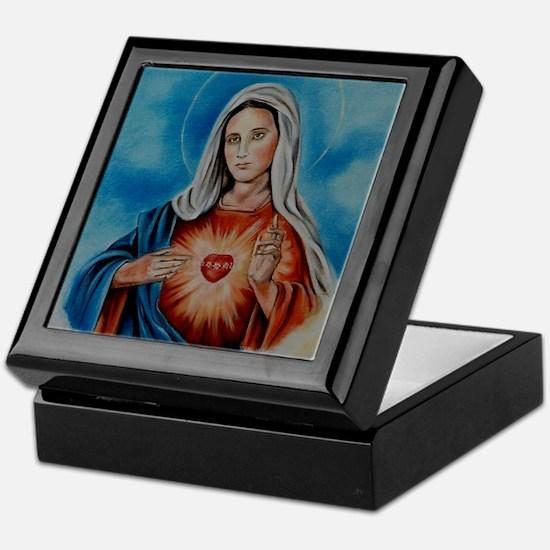 maria-heart Keepsake Box
