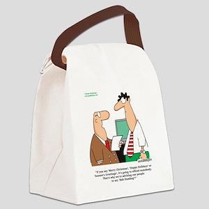 Humbug Canvas Lunch Bag