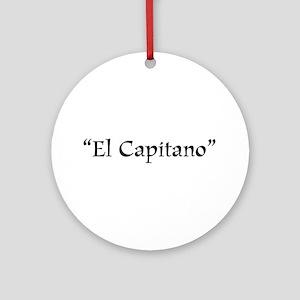 El Capitano Ornament (Round)