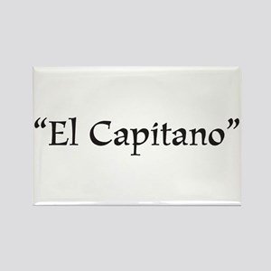 El Capitano Rectangle Magnet
