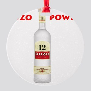 ouzo_power Round Ornament