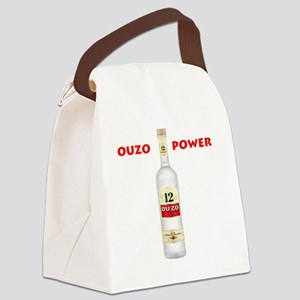 ouzo_power Canvas Lunch Bag