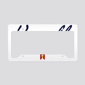 Knoxville Script W License Plate Holder