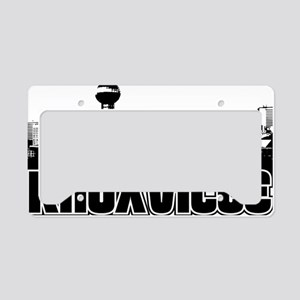 Knoxville Skyline License Plate Holder