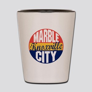 Knoxville Vintage Label B Shot Glass