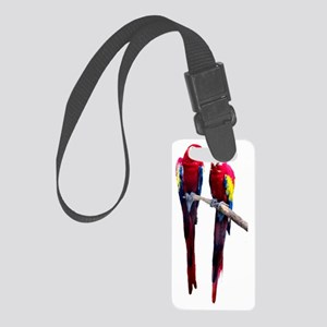 Scarlet Macaw Small Luggage Tag