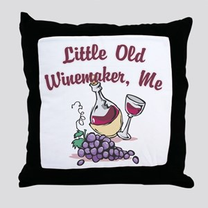 Little Old Winemaker Throw Pillow