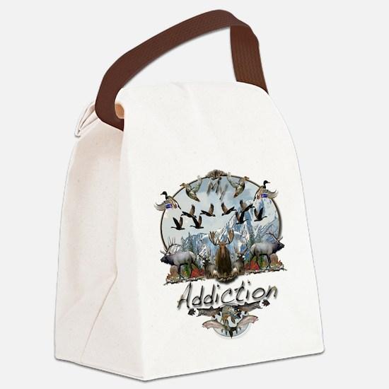 My addiction Canvas Lunch Bag