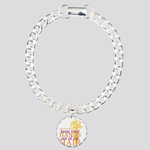 Keep Your Hands Out Of M Charm Bracelet, One Charm