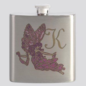 Fairy Monogram K Flask