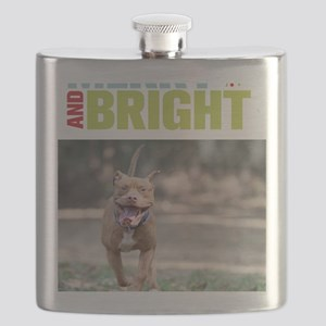 Merry and bright Flask