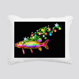 yulefish Rectangular Canvas Pillow