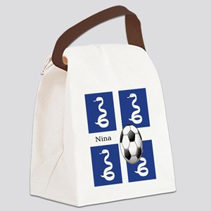 nina copy Canvas Lunch Bag
