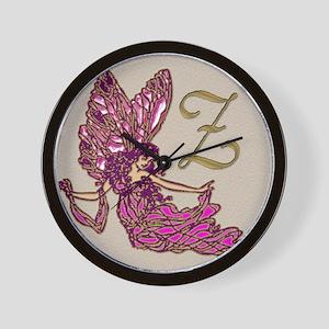 Fairy Monogram BZ Wall Clock