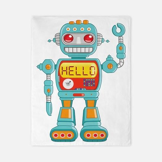 Hello Robot Twin Duvet