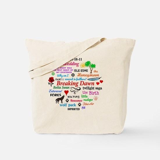 Breaking Dawn Btn Tote Bag