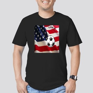 USA copy Men's Fitted T-Shirt (dark)