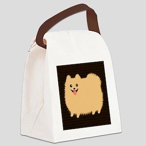pomtile Canvas Lunch Bag