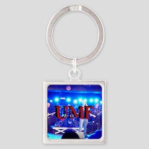 UMFbutton4 Square Keychain