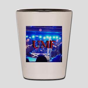 UMFbutton4 Shot Glass