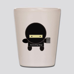 accounting-ninja Shot Glass