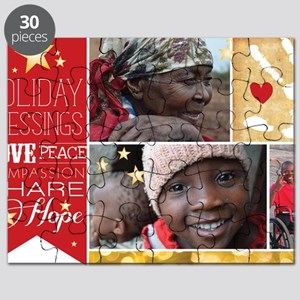 PDI Holiday Card w/ words  pictures Puzzle