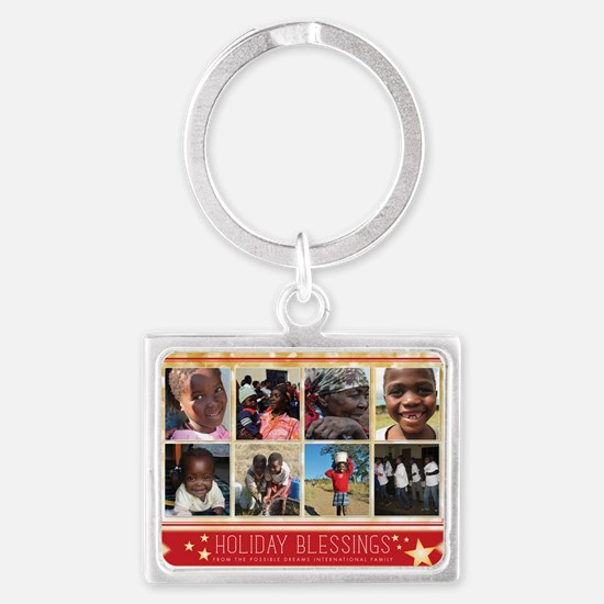 PDI Holiday Card Holiday Blessi Landscape Keychain