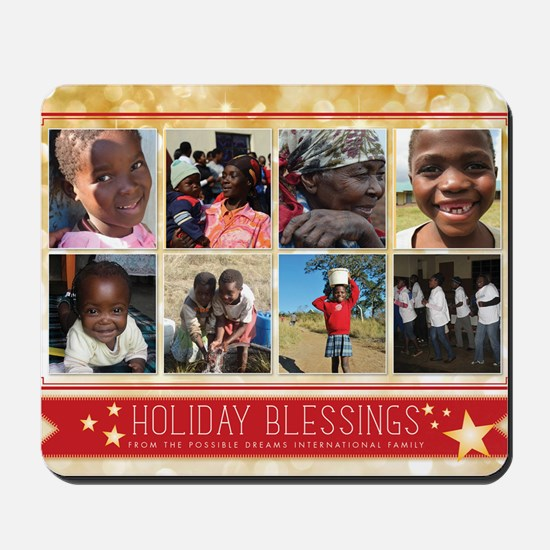 PDI Holiday Card Holiday Blessings w/ 8  Mousepad