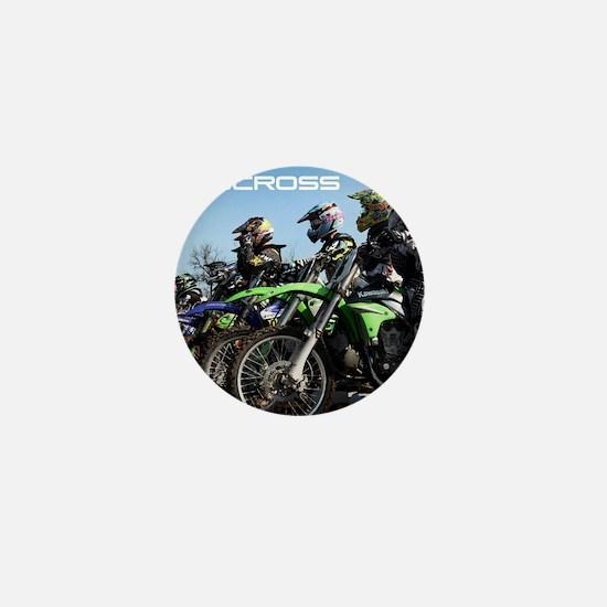 MotoCross Calendar Cover Mini Button