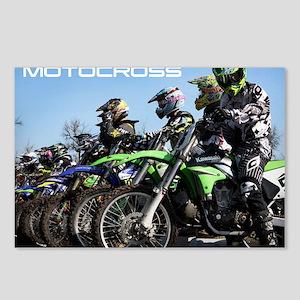MotoCross Calendar Cover Postcards (Package of 8)