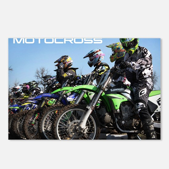 MotoCross Calendar Cover Postcards (Package of 8)