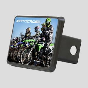 MotoCross Calendar Cover Rectangular Hitch Cover