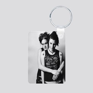 youngcouplejournal Aluminum Photo Keychain