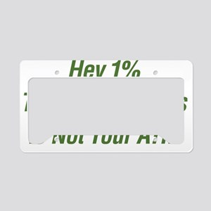 ATM License Plate Holder
