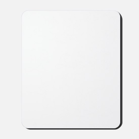 death life white Mousepad