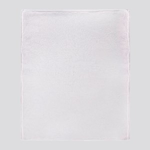 death life white Throw Blanket