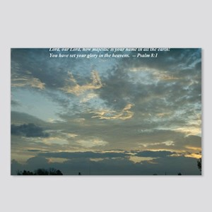 CloudsWithSaying_LargeFra Postcards (Package of 8)