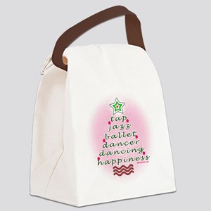 Dancers Christmas Tree by DanceSh Canvas Lunch Bag