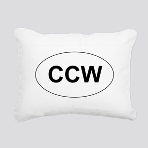 CCW Rectangular Canvas Pillow