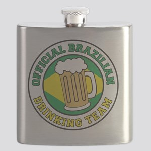 Brazilian Drinking Team Flask