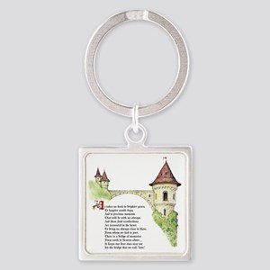 The Bridge We Call Love Square Keychain