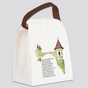 The Bridge We Call Love Canvas Lunch Bag