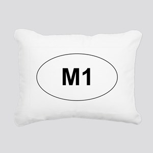 M1 Rectangular Canvas Pillow