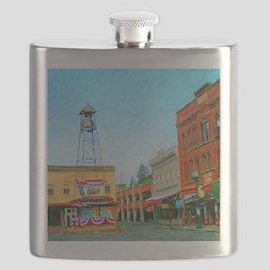 Downtown Sesquicentennial 2008  8 x 10  sig  Flask