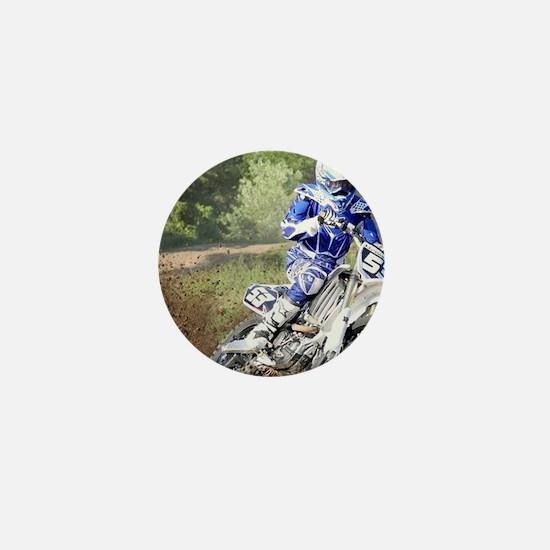 jordan motocross calender Mini Button