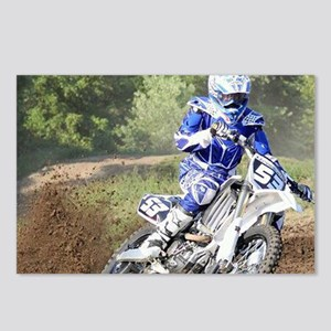 jordan motocross calender Postcards (Package of 8)