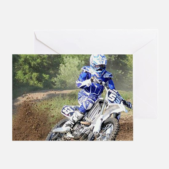jordan motocross calender Greeting Card